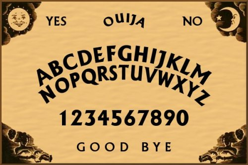 Ouija board, Ouija board, can you help me?