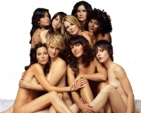 "The cast of ""The L Word"" sans clothes though non-explicit"