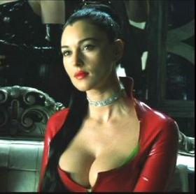 Monica Belluci in Matrix: Reloaded