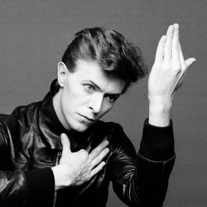 "David Bowie, seen here trying (and failing) to give the Hailing Sign of a Fellowcraft Freemason (""Heroes,"" 1978)"
